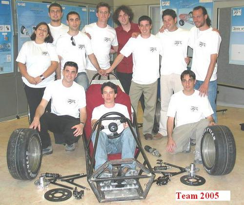 FSAE BGU TEAM 2005