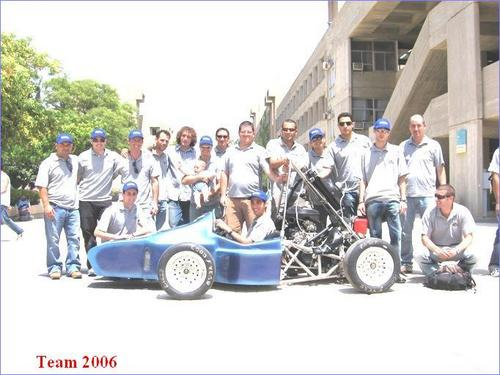 FSAE BGU TEAM 2006