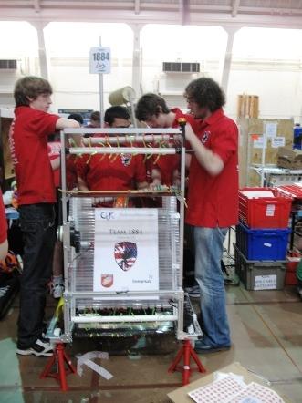GRFN robot, 2009
